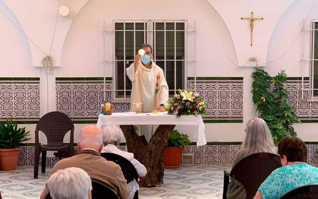Vuelven las misas a la Residencia Jesús de Nazaret
